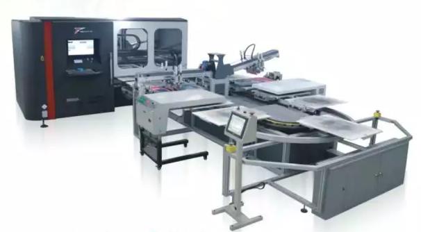 服装数码喷墨印花实现大生产解决方案分析